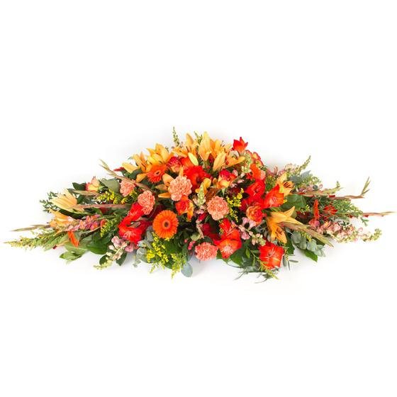 Autumnal Casket Spray